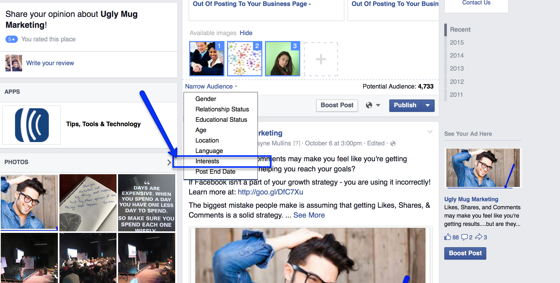 Facebook Ad Changes: Targeted Organic Posts